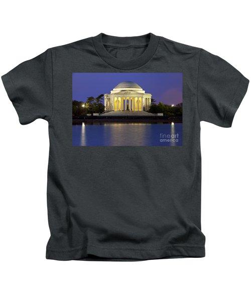 Jefferson Memorial Kids T-Shirt