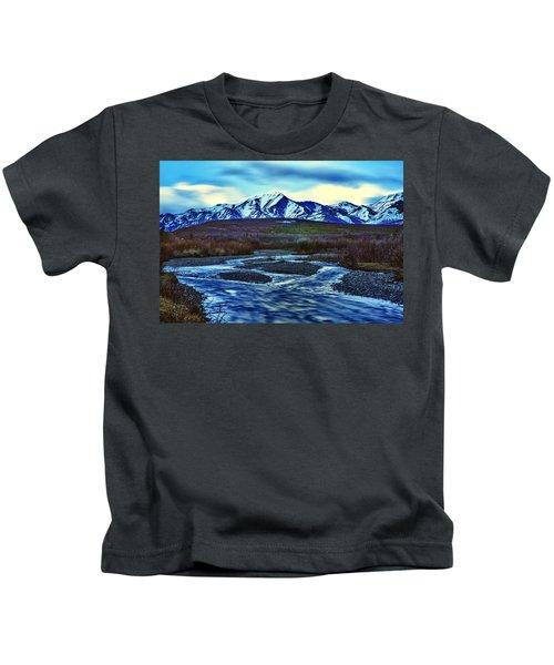 Jenny Creek Dawn Kids T-Shirt