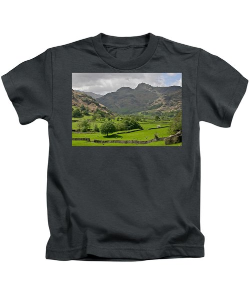 Lake District England Kids T-Shirt