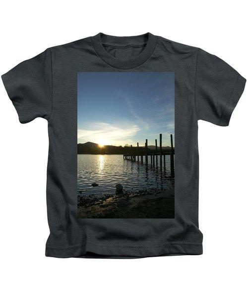 Lake District Sunset Kids T-Shirt