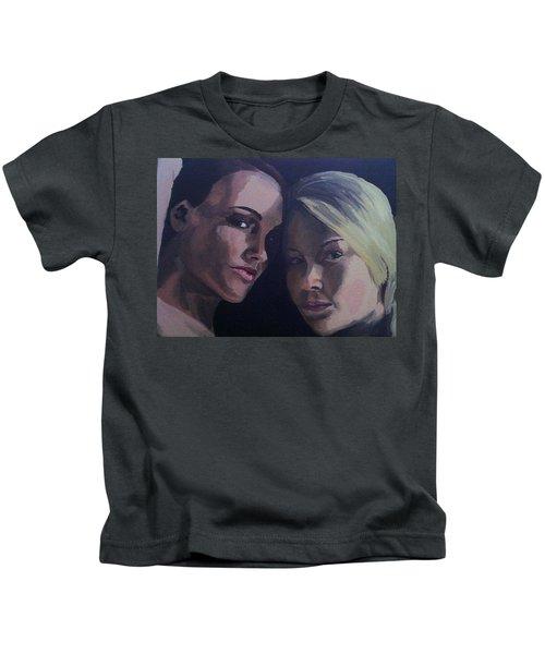 Leah And Tiffany Kids T-Shirt