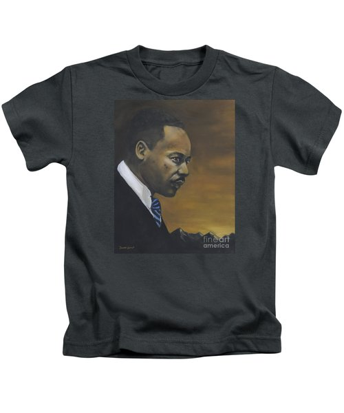 Martin Luther King Jr - From The Mountaintop Kids T-Shirt
