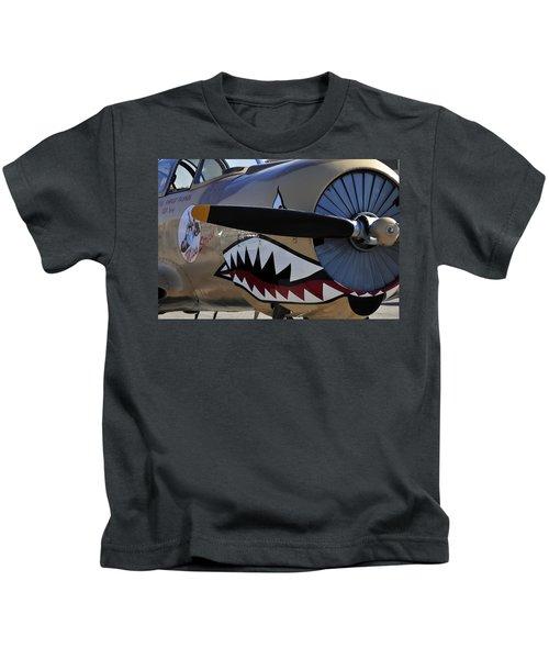 Mean Machine Kids T-Shirt by David Lee Thompson