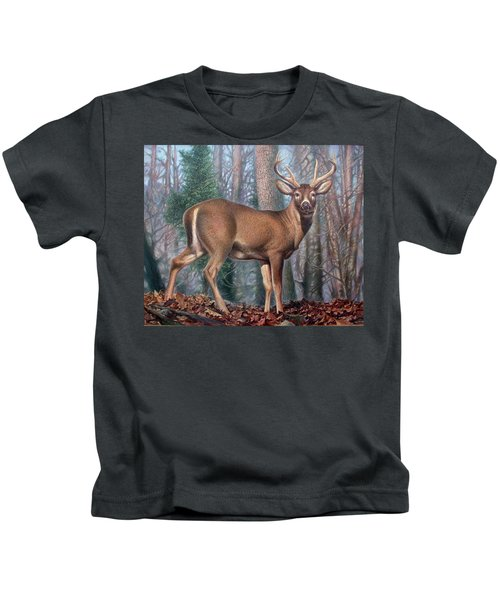 Missouri Whitetail Deer Kids T-Shirt