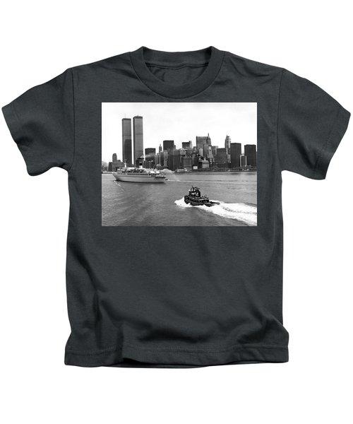 New York City Harbor Kids T-Shirt