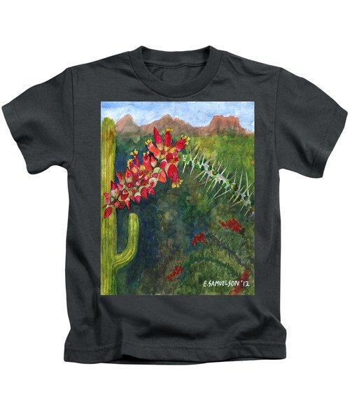 Ocotillo Spring Kids T-Shirt
