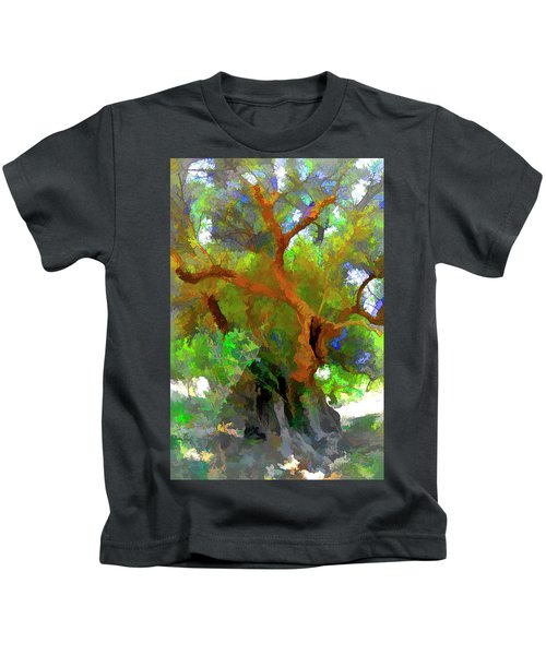 Old Olive Tree 03 Kids T-Shirt