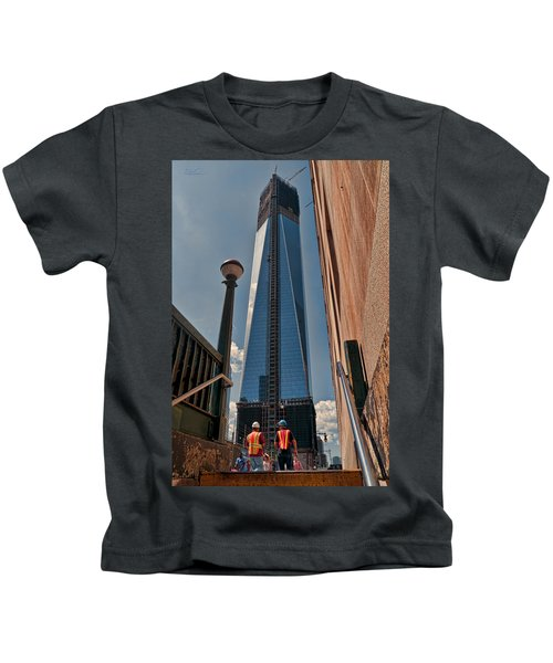 One Wtc First Look Kids T-Shirt