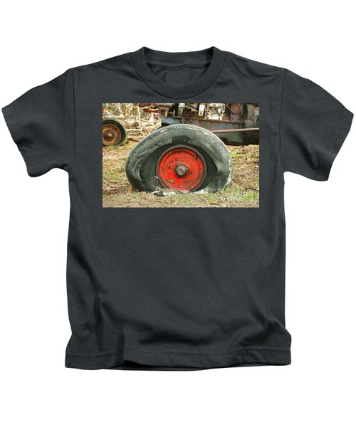 Only Flat On The Bottom Kids T-Shirt