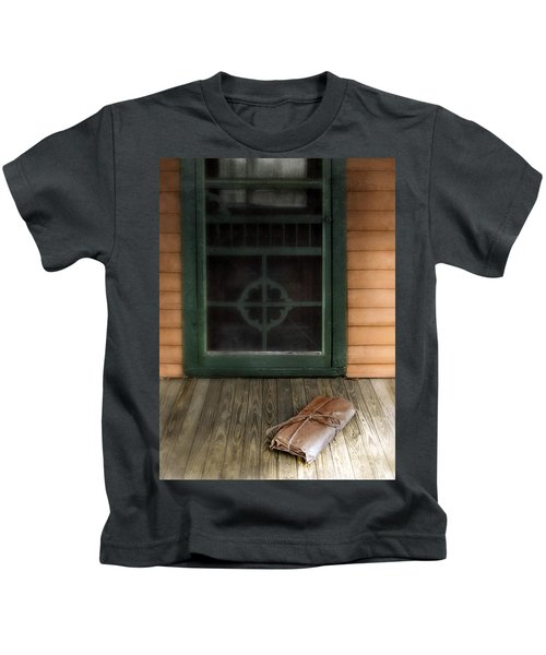 Package On Front Porch Kids T-Shirt