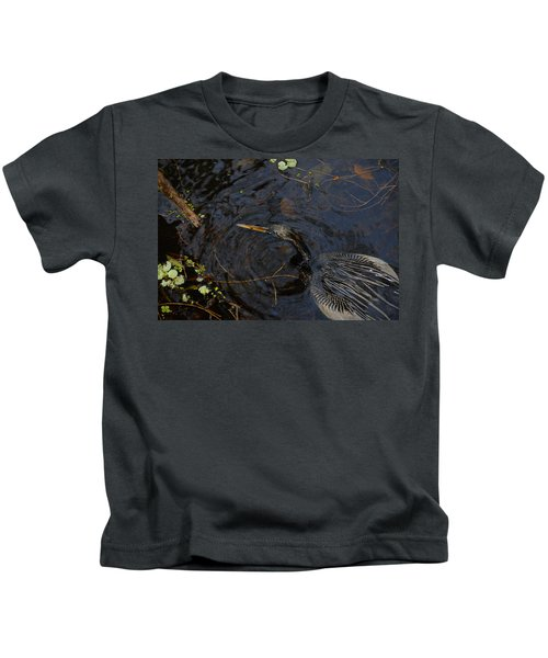 Perfect Catch Kids T-Shirt by David Lee Thompson