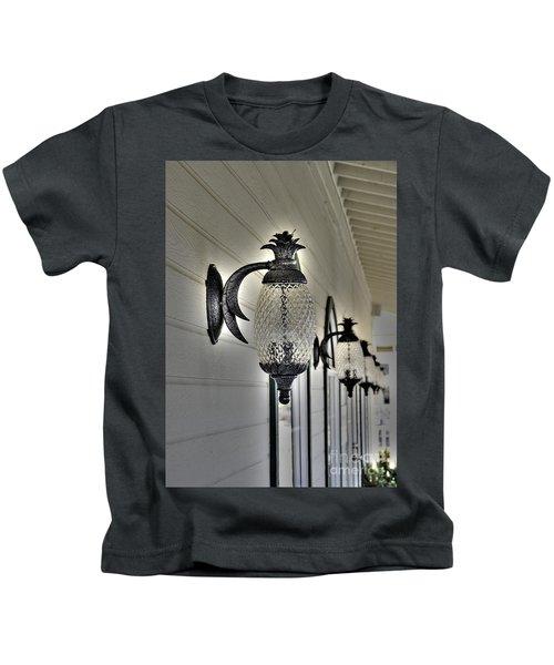 Pineapple Lights Kids T-Shirt
