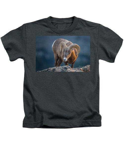 Rocky Mountain Big Horn Ram Kids T-Shirt