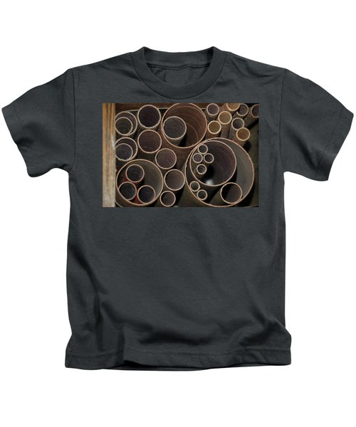 Round Sandpaper Kids T-Shirt