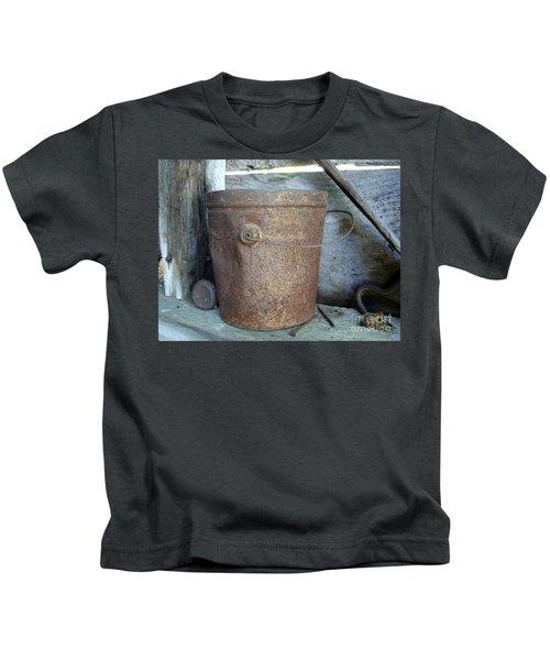 Rusty Bucket Kids T-Shirt