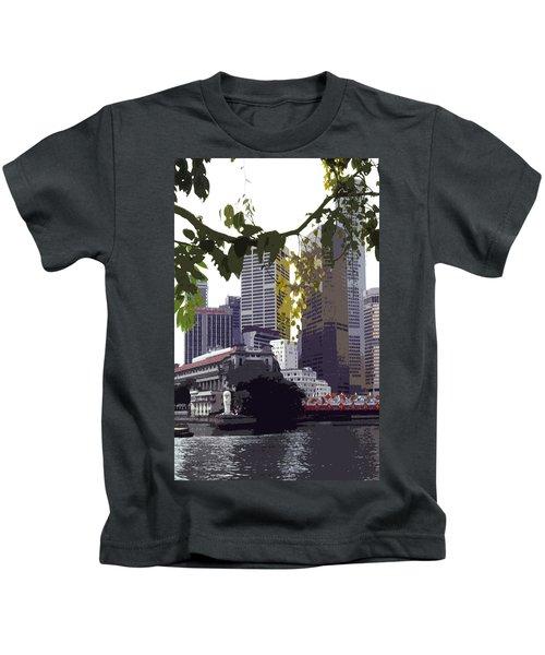 Singapore ... The Lion City  Kids T-Shirt