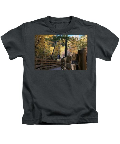 Spearfish Canyon Walkway Kids T-Shirt