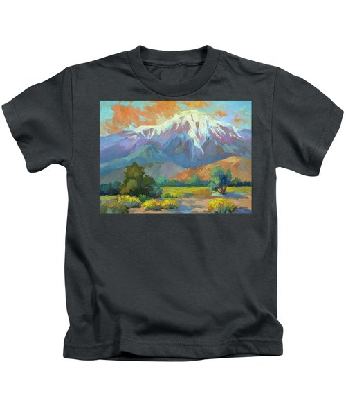 Spring At Whitewater Preserve Kids T-Shirt