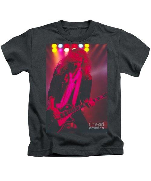 Steve Clarke Kids T-Shirt by David Plastik