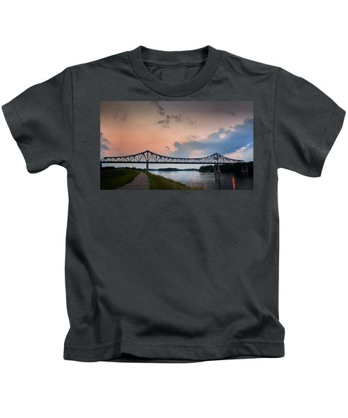 Sunset Bridge Kids T-Shirt