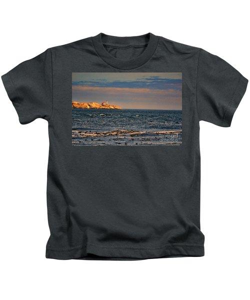 Sunset Over British Columbia Kids T-Shirt