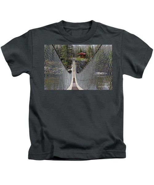 Suspension Bridge Kids T-Shirt