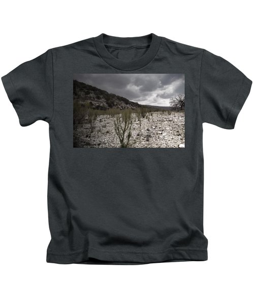 The Bank Of The Nueces River Kids T-Shirt