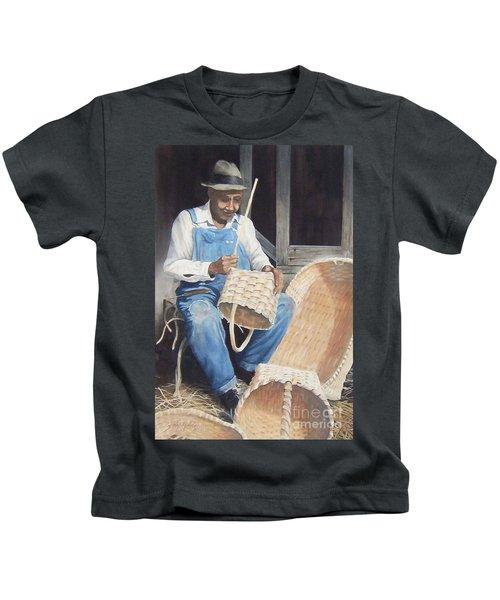 The Basket Maker ...sold  Kids T-Shirt