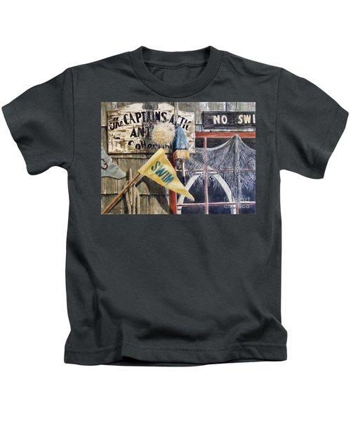 The Captains Attic Sold Kids T-Shirt