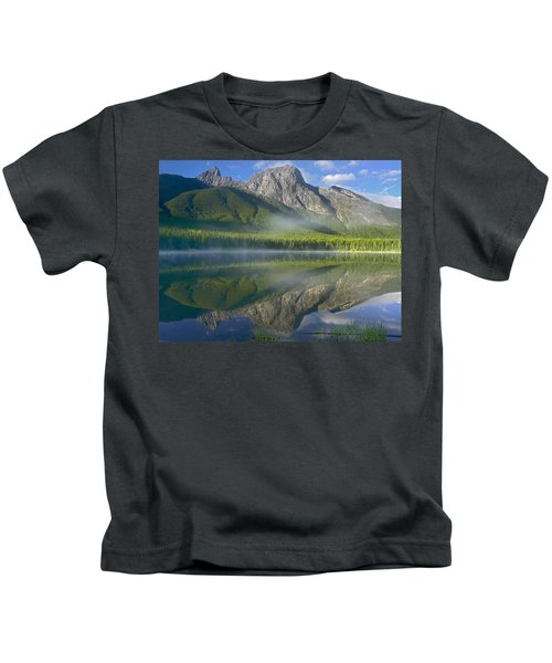 The Wedge Overlooking Wedge Pond Kids T-Shirt