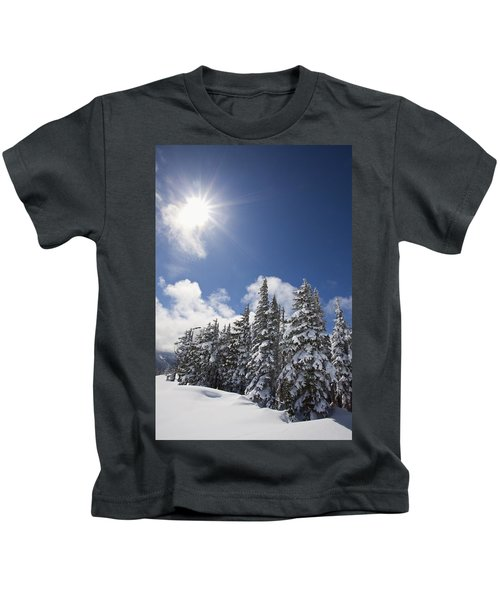 Timberline, Oregon Cascades, United Kids T-Shirt