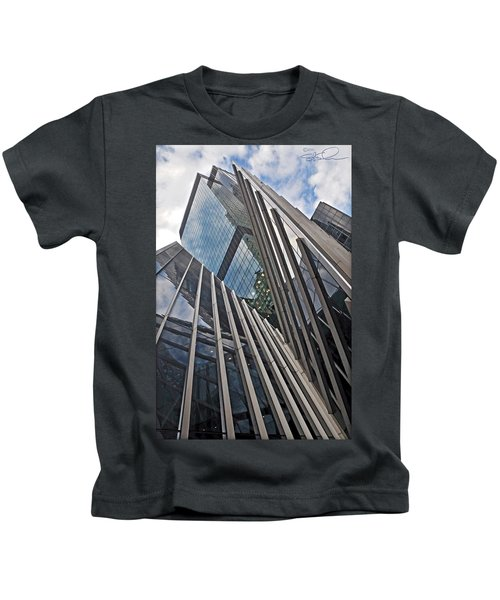 Trylon Towers Kids T-Shirt