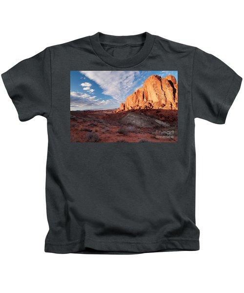 Valley Of Fire Kids T-Shirt