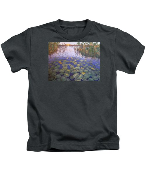Waterlillies South Africa Kids T-Shirt
