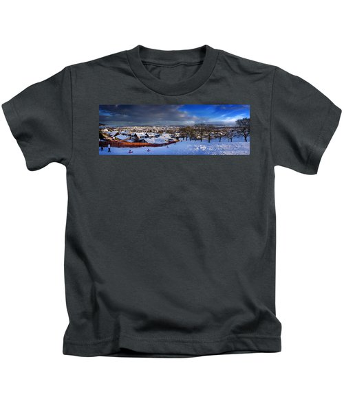 Winter In Inverness Kids T-Shirt