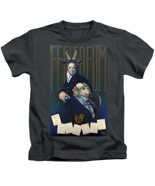 Yak Andrew Bienstjalk Kids T-Shirt