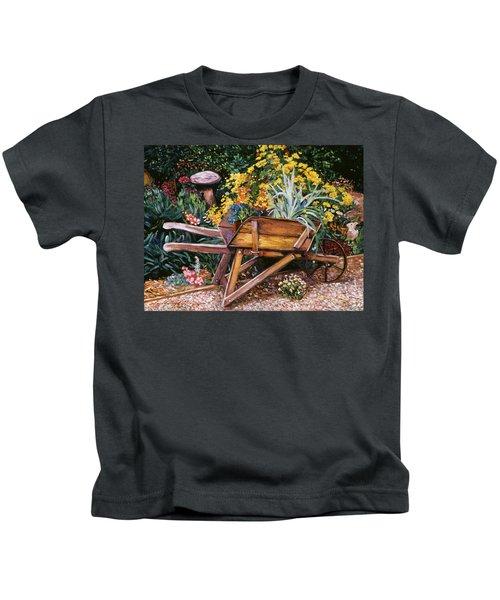 A Gardener's Helper Kids T-Shirt