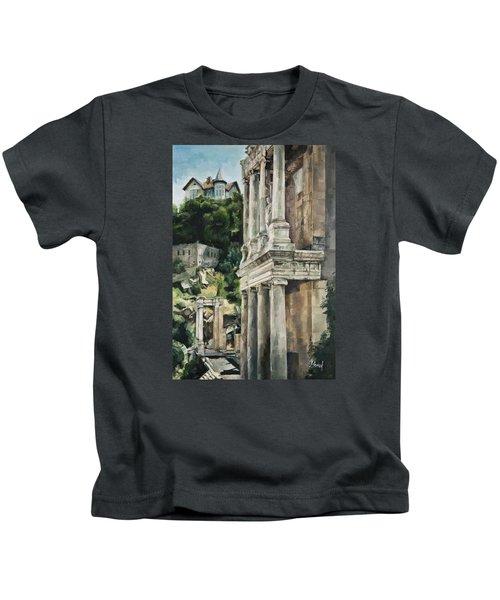 Ancient Amphitheater Kids T-Shirt