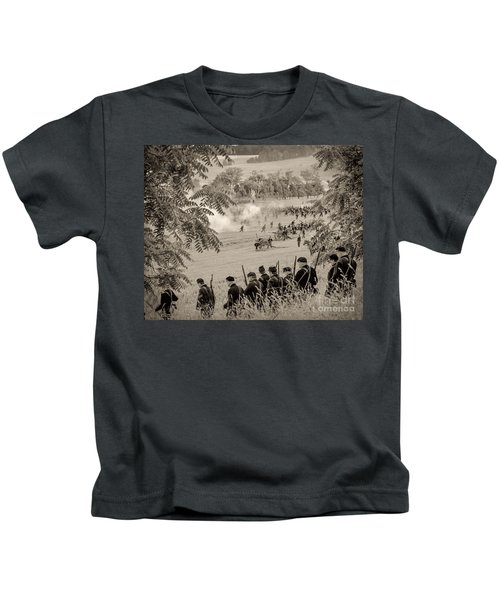 Gettysburg Union Artillery And Infantry 7465s Kids T-Shirt