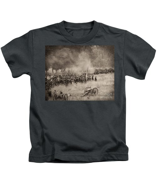 Gettysburg Union Artillery And Infantry 8456s Kids T-Shirt