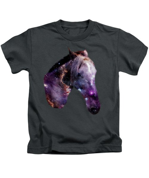 Horse In The Small Magellanic Cloud Kids T-Shirt