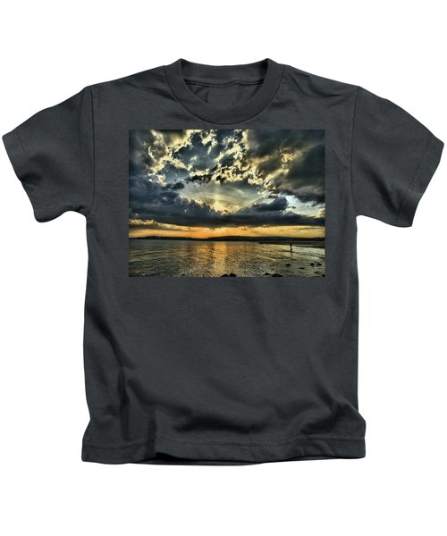 ... Never Walk Alone Kids T-Shirt