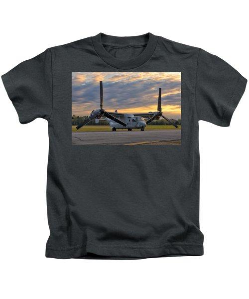 Osprey At Daybreak Kids T-Shirt