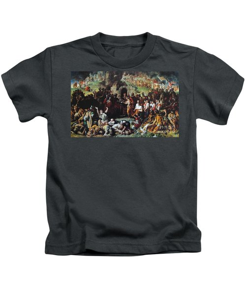 The Marriage Of Strongbow And Aoife Kids T-Shirt