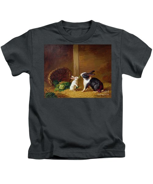 Two Rabbits Kids T-Shirt