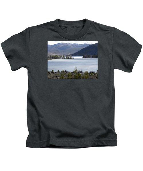 Granby Lake Rmnp Kids T-Shirt