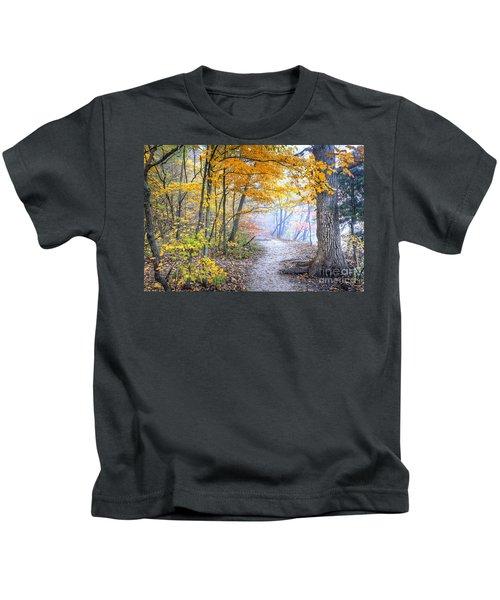 0982 Starved Rock Riverwalk Kids T-Shirt