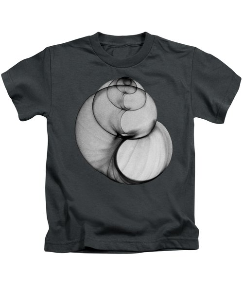 X-ray Photo Of Fresh Water Pond Snail Kids T-Shirt