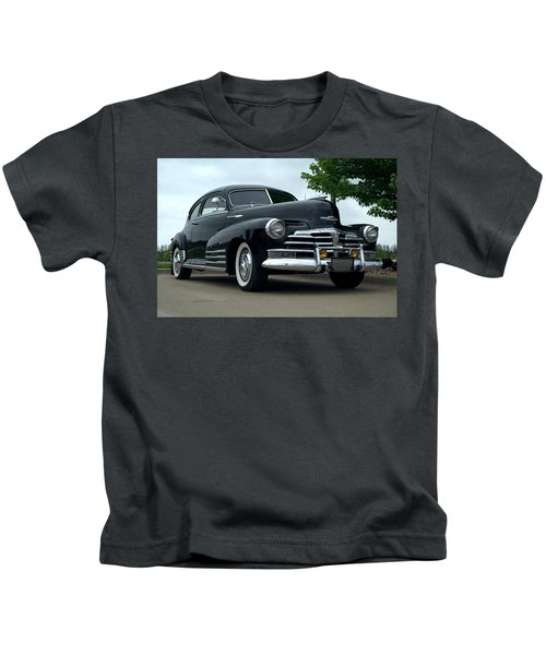 1948 Chevrolet Fleetline Custom Kids T-Shirt