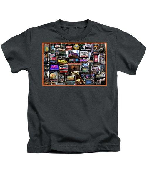 2016 Broadway Fall Collage Kids T-Shirt